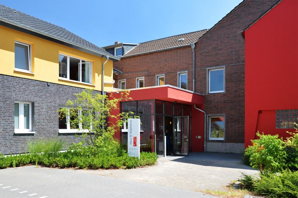 Kinderheim - Eingang Verwaltung
